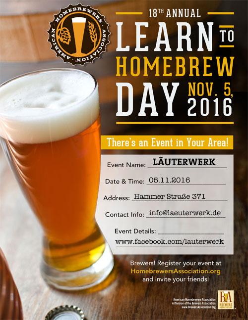 learn to homebrew day 2016