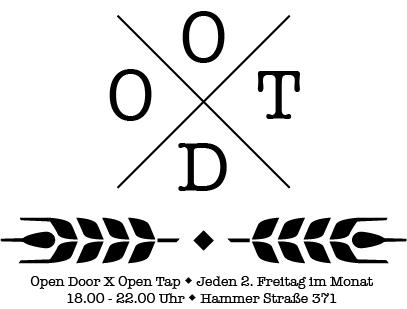 Open Door X Open Tap immer den 2. Freitag im Monat